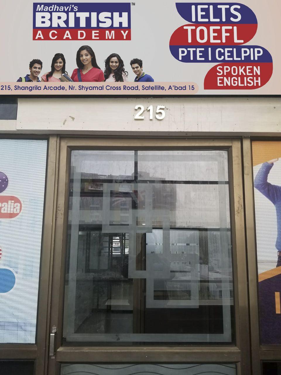 Madhavis British Academy - IELTS Coaching Class in Satellite, Ahmedabad