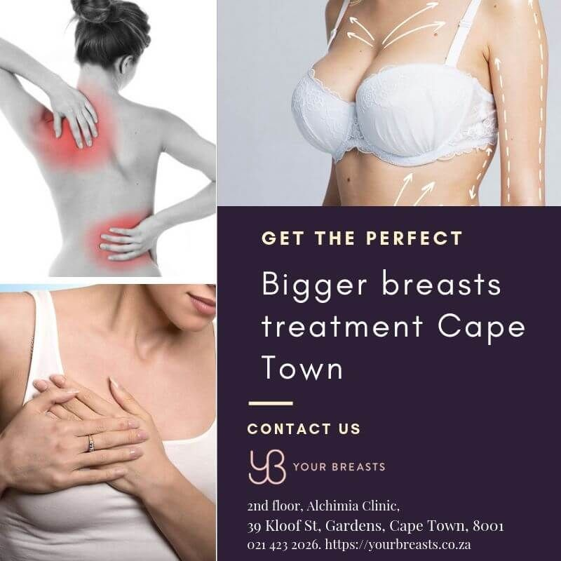 Feel comfortable with perfect treatment of bigger breast problem.