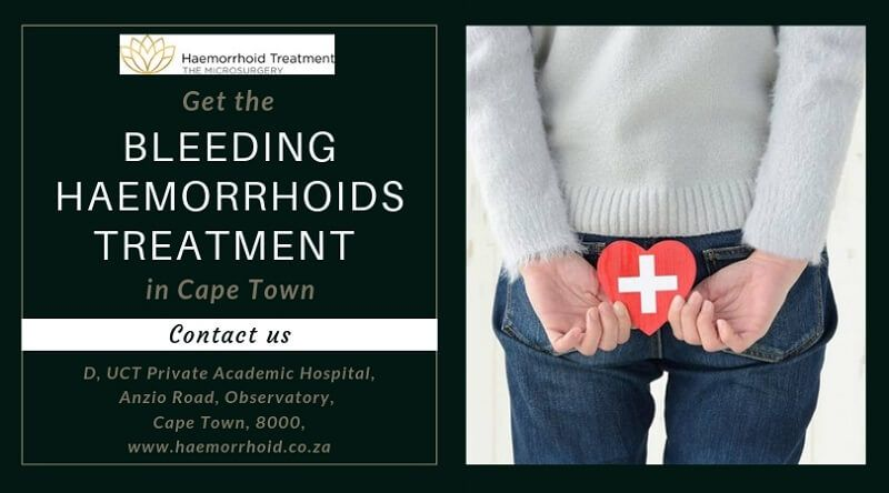 Looking for bleeding haemorrhoids treatment Cape Town?