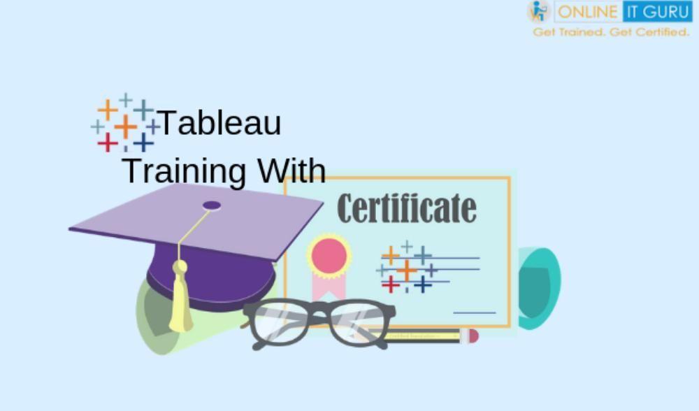 Tableau certification | Tableau online training | Onlineitguru