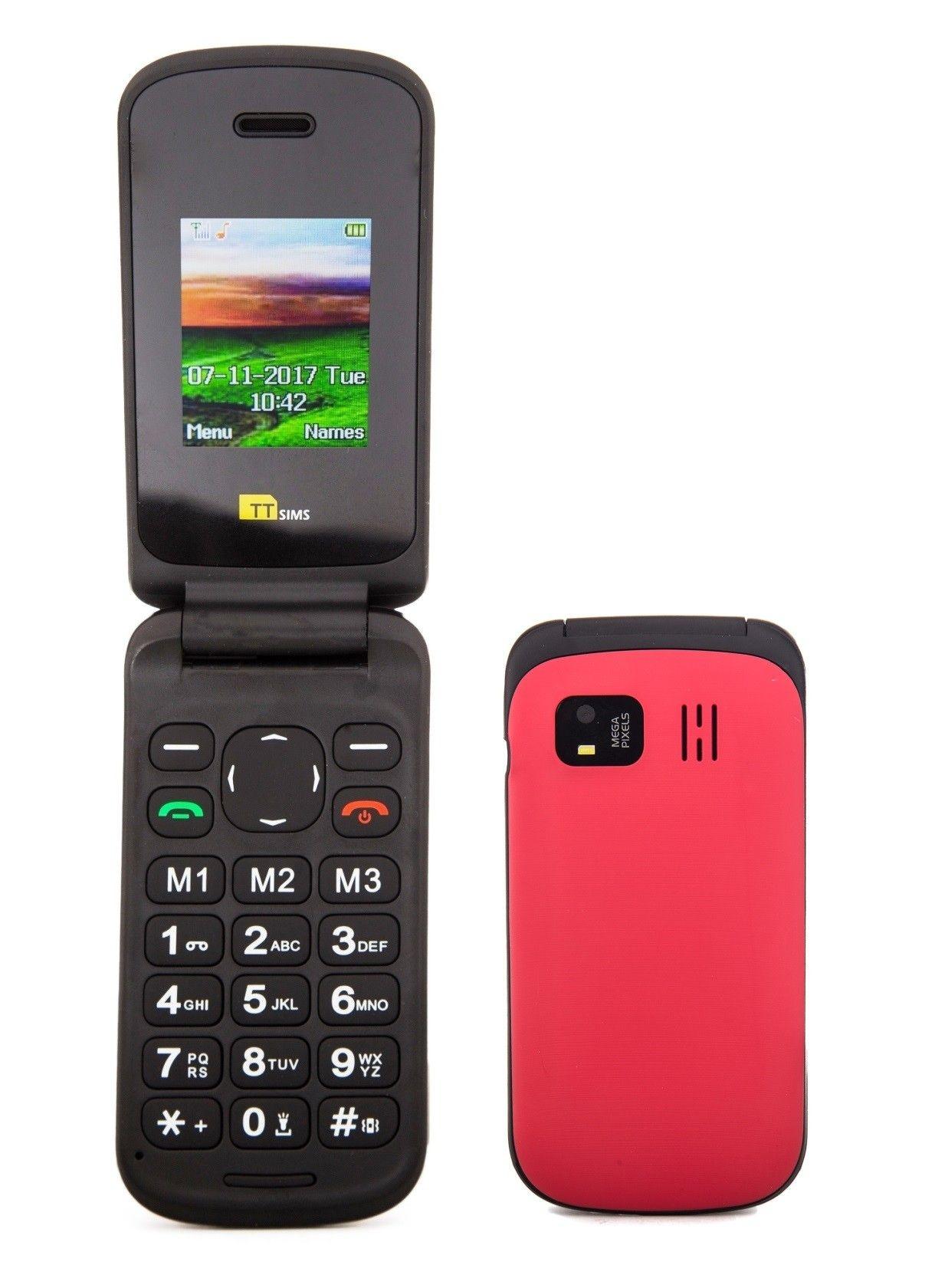 TTSims TT140 Mobile Phone for Elderly | TTFone