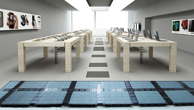 Cable Management Floors