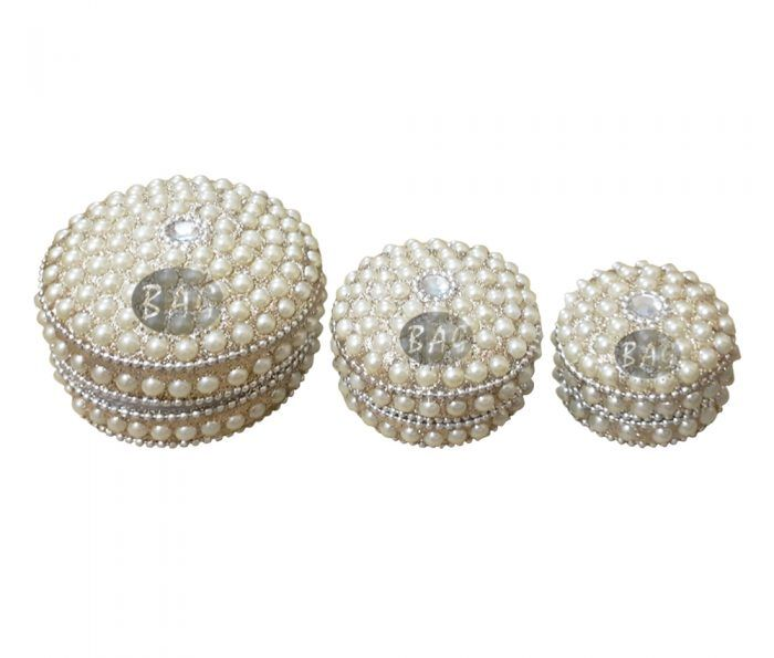 Beaded Jewelry Lac Boxes in Delhi