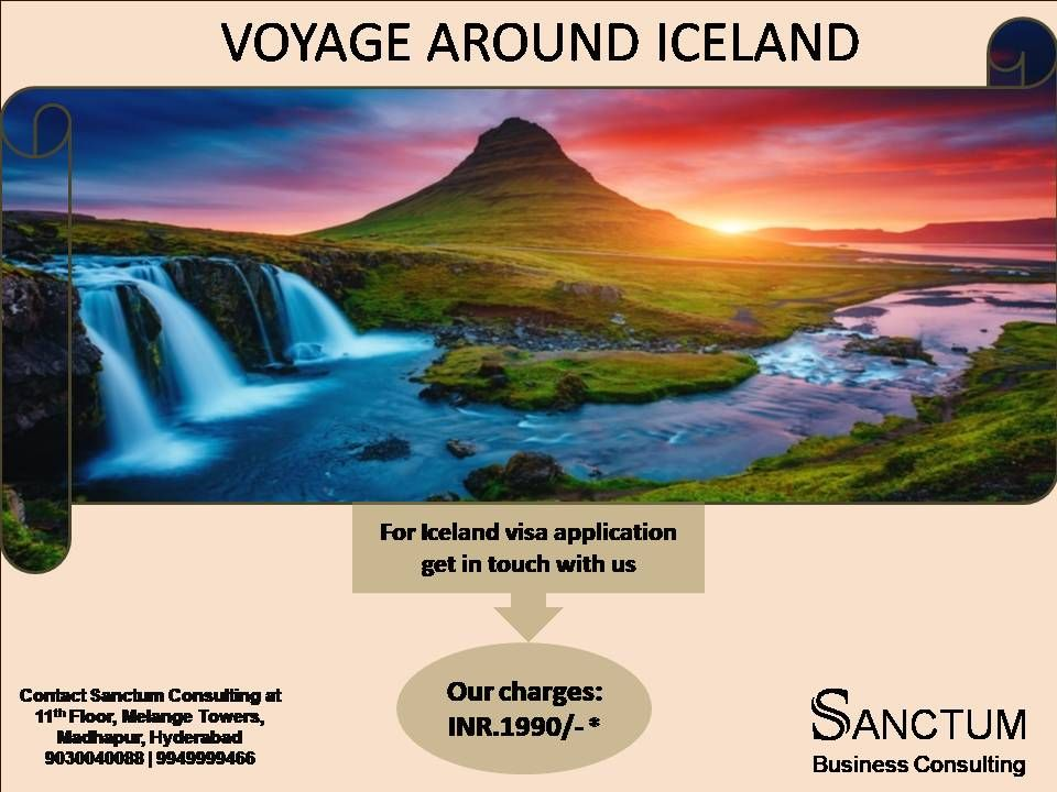 Apply for Iceland Tourist Visa with Sanctum Consulting