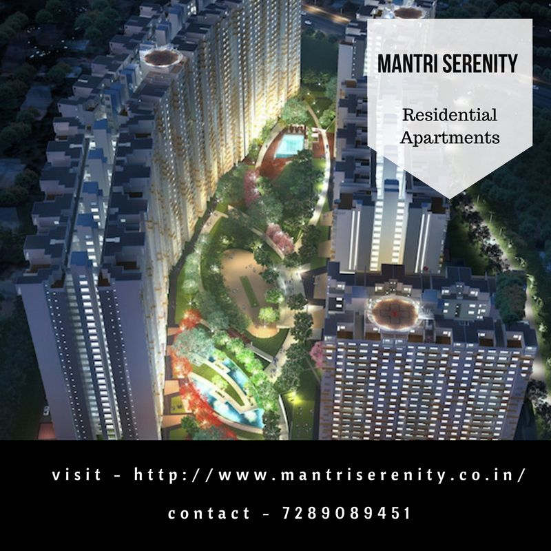 Mantri Serenity New Residential Projects in Bangalore