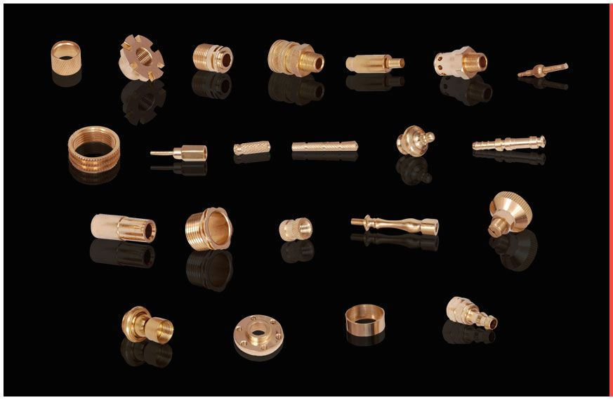 Brass Precision Turned Parts – Brass Precision, Precision Brass Parts, Brass Fittings from Jamnagar