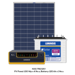 Get the Most Dependable Solar Panels from Luminous
