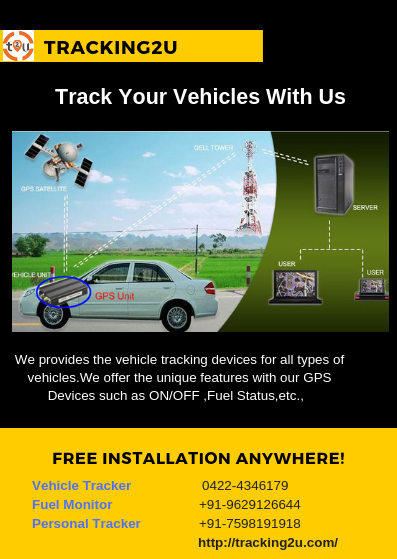 The best vehicle tracking system and excellent Quality GPS tracking system