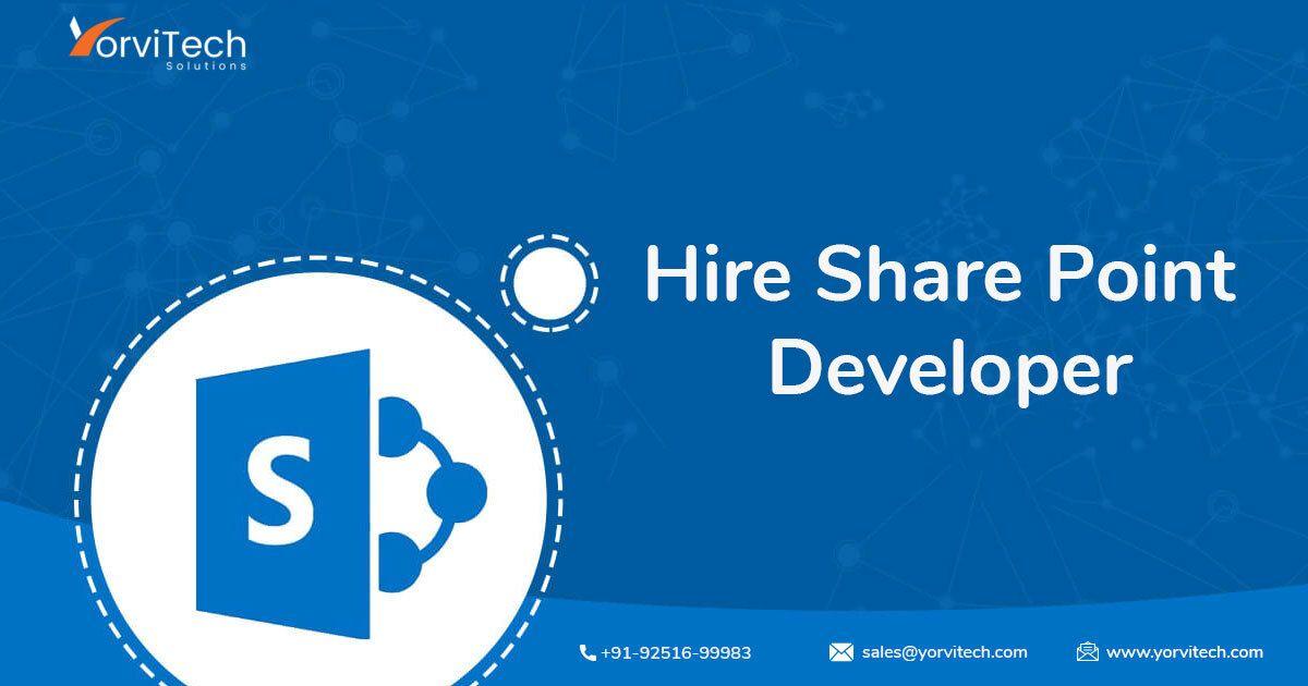 Hire the Best Skilled Microsoft SharePoint Developer