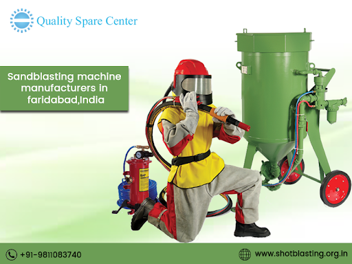 "Looking for Shot Blasting Machine manufacturers in Faridabad, India  – ""QSC"""