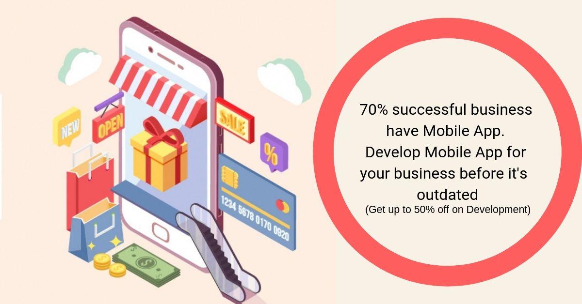 Get 50% Off on Mobile App Development