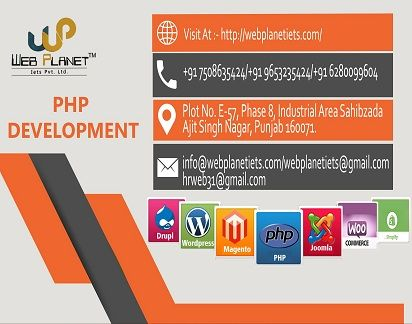 Top PHP Companies In Chandigarh, PHP Development Company