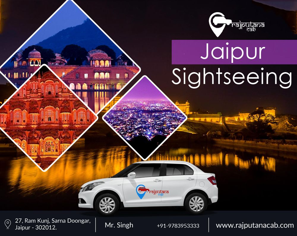 Jaipur Sightseeing Taxi | Best Jaipur sightseeing cab
