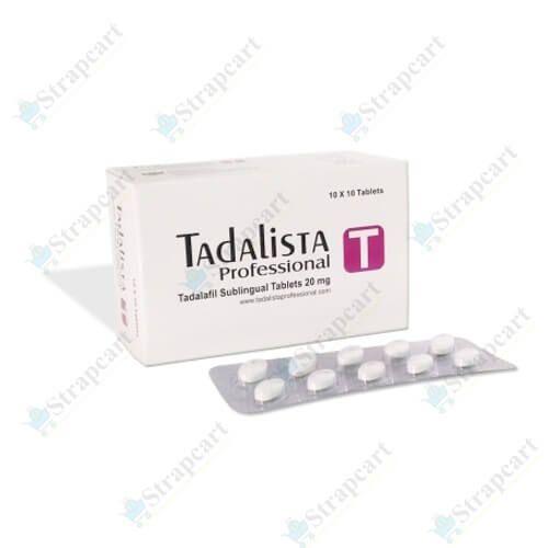 Buy Tadalista Professional :-Reviews, Price, Dosage - Strapcart