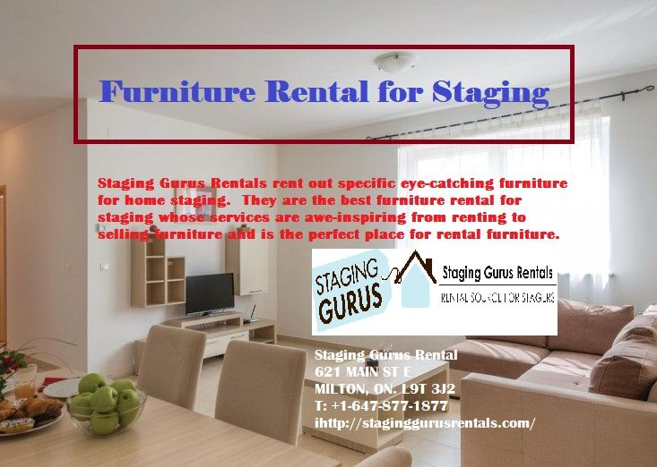 Furniture Rental For Home Staging