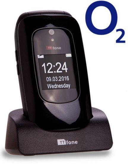 TTfone Lunar TT750 - Black - O2 (Bundle) Pay As You Go