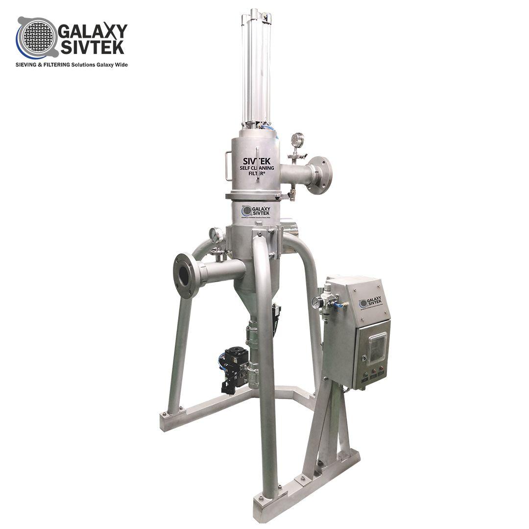 Self Cleaning Filter Manufacturer -  Galaxy Sivtek PVT Ltd