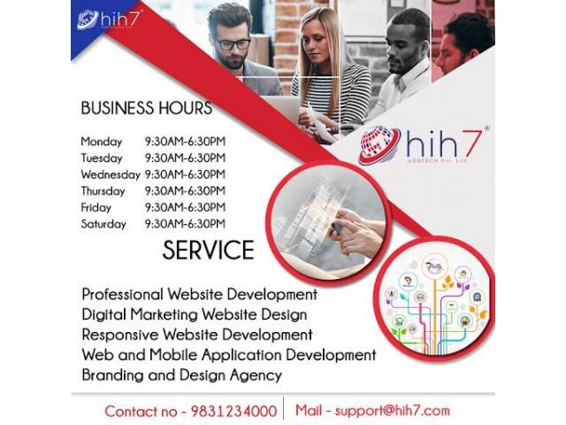 Grab The Afforable Digital Marketing Services of Hih7 Webtech