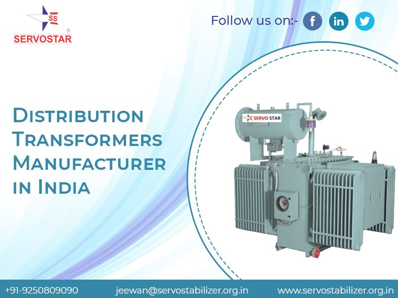 Distribution Transformers Manufacturer in india