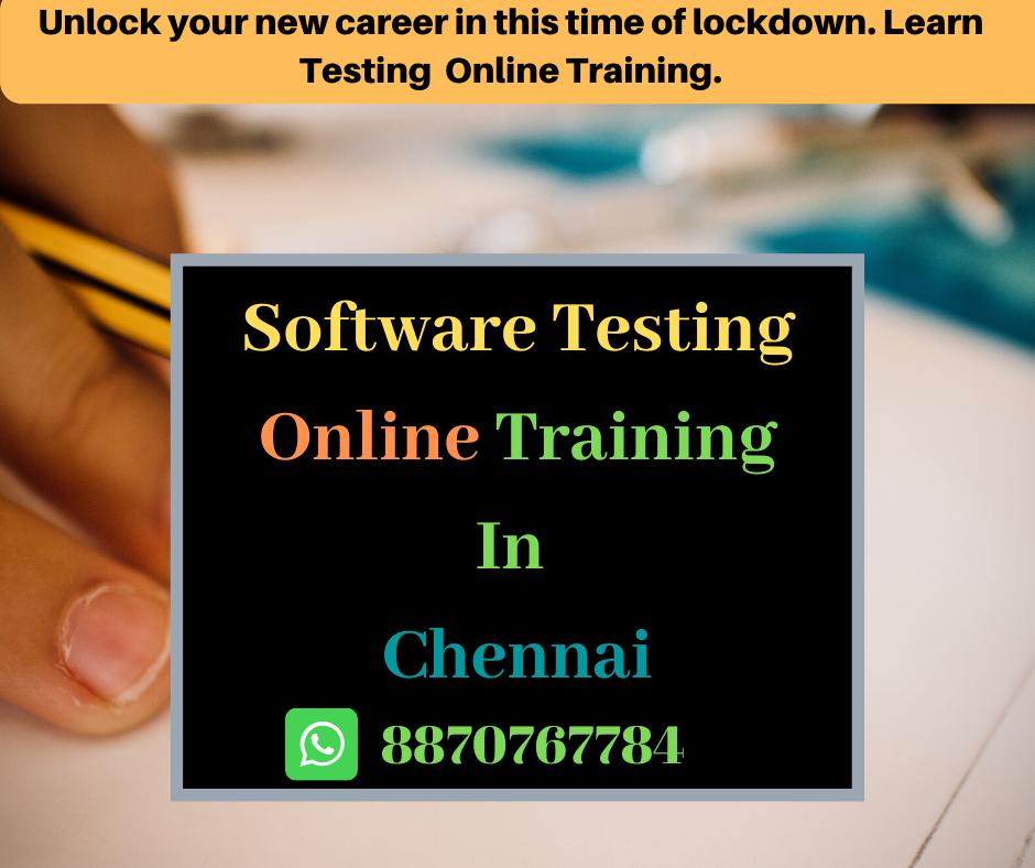Testing Training in chennai