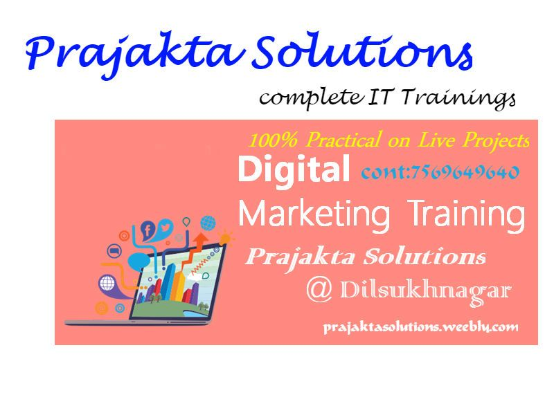 Best Digital Marketing | Seo, training in   Malakpet & Dilsukhnagar.