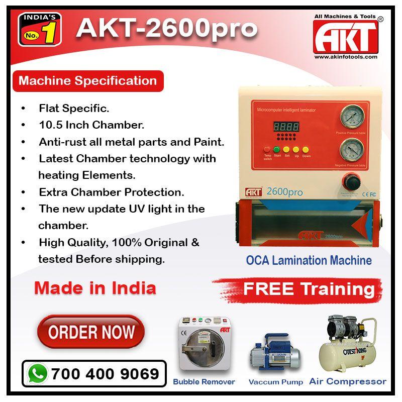 OCA Lamination Machine Price in Delhi | Call 700 400 9069