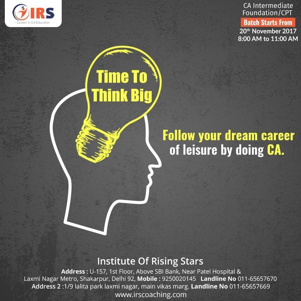 Best Institute for CA in Delhi
