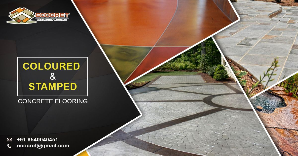 Ecocret™ Decorative Concrete System