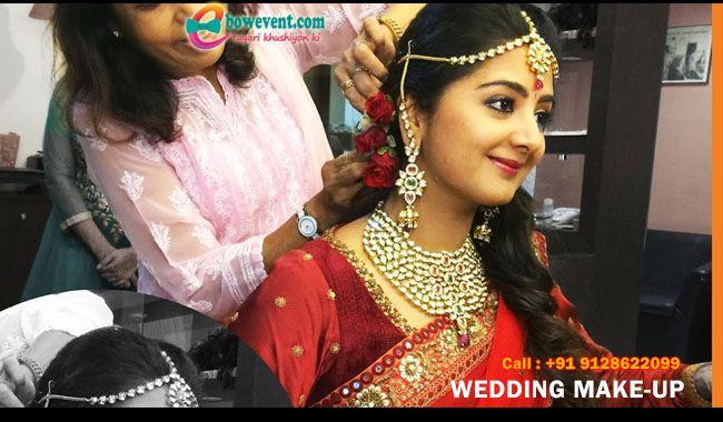 Bridal Makeup in Patna | Bridal Makeup Saloon in Patna with bowevent