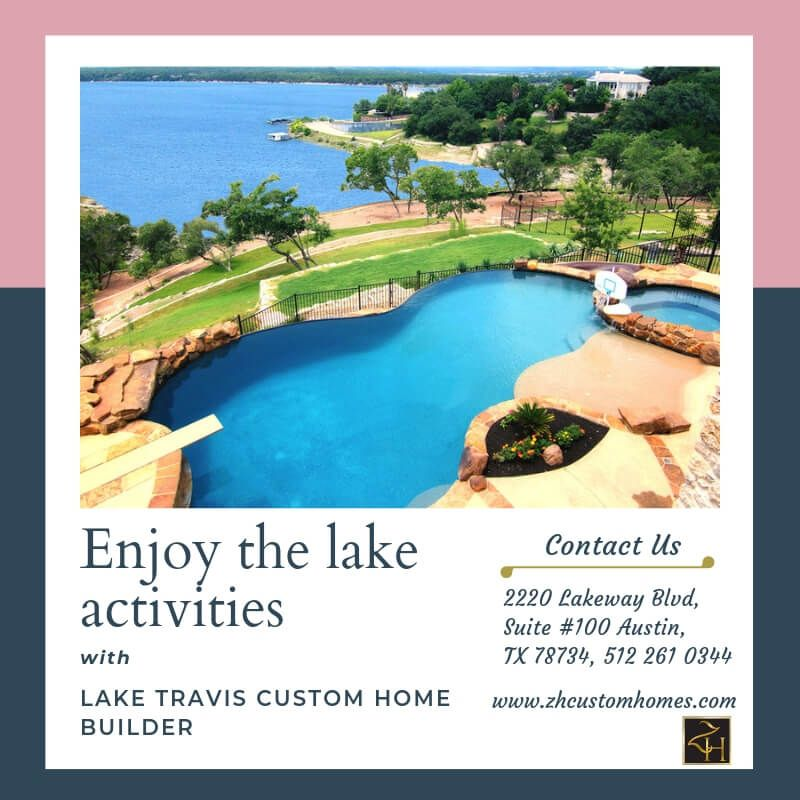 Feel the beautiful views with Lake Travis custom home builder
