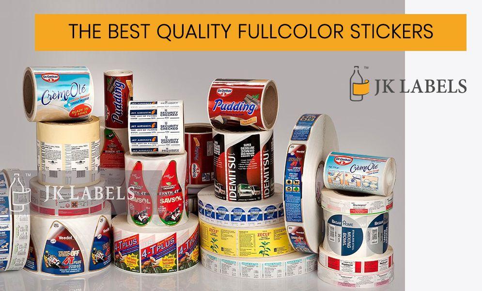 Sticker Manufacturer at Lowest Price Label? - JK Labels