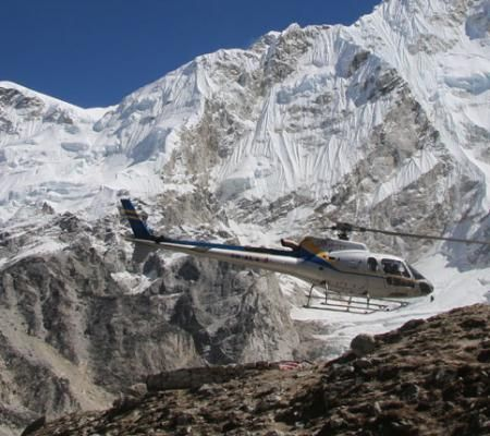 Top Everest Helicopter Tour in Nepal