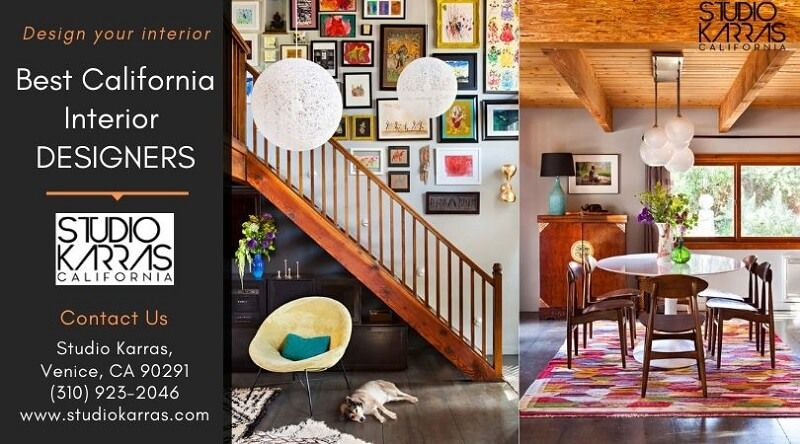 To decorate your interior best with California Interior Designers.