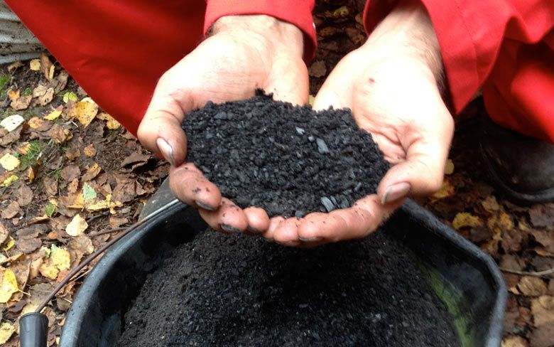 Activated biochar amendment for soil