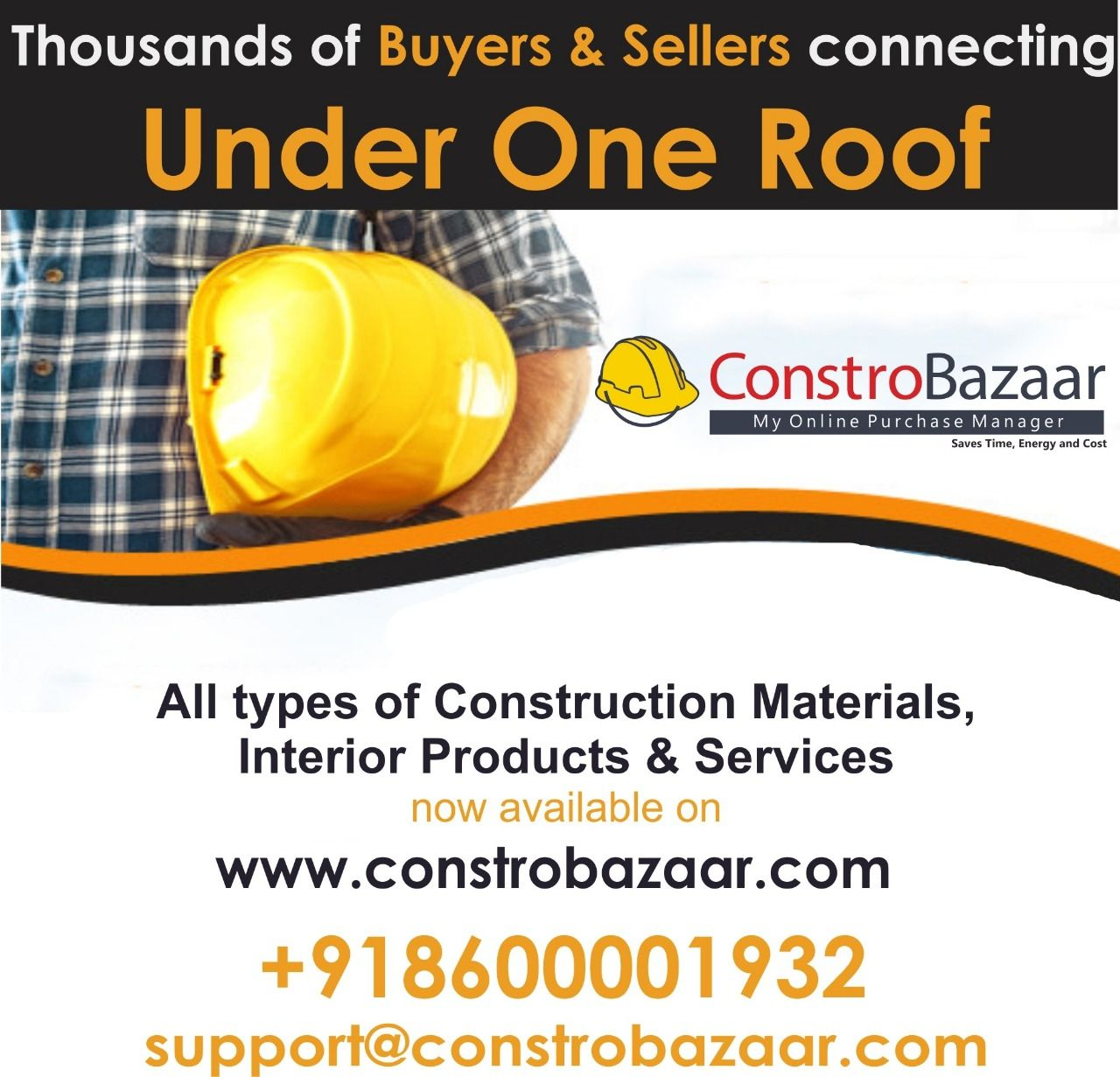 Building Materials | Buy & Sell Construction Materials Online at ConstroBazaar