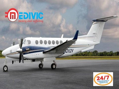 Very Low Budget Air Ambulance in Bagdogra with Doctor Team