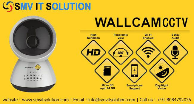 WIFI cctv camera in patna |Wireless cctv camera in patna:-SMV IT Solution