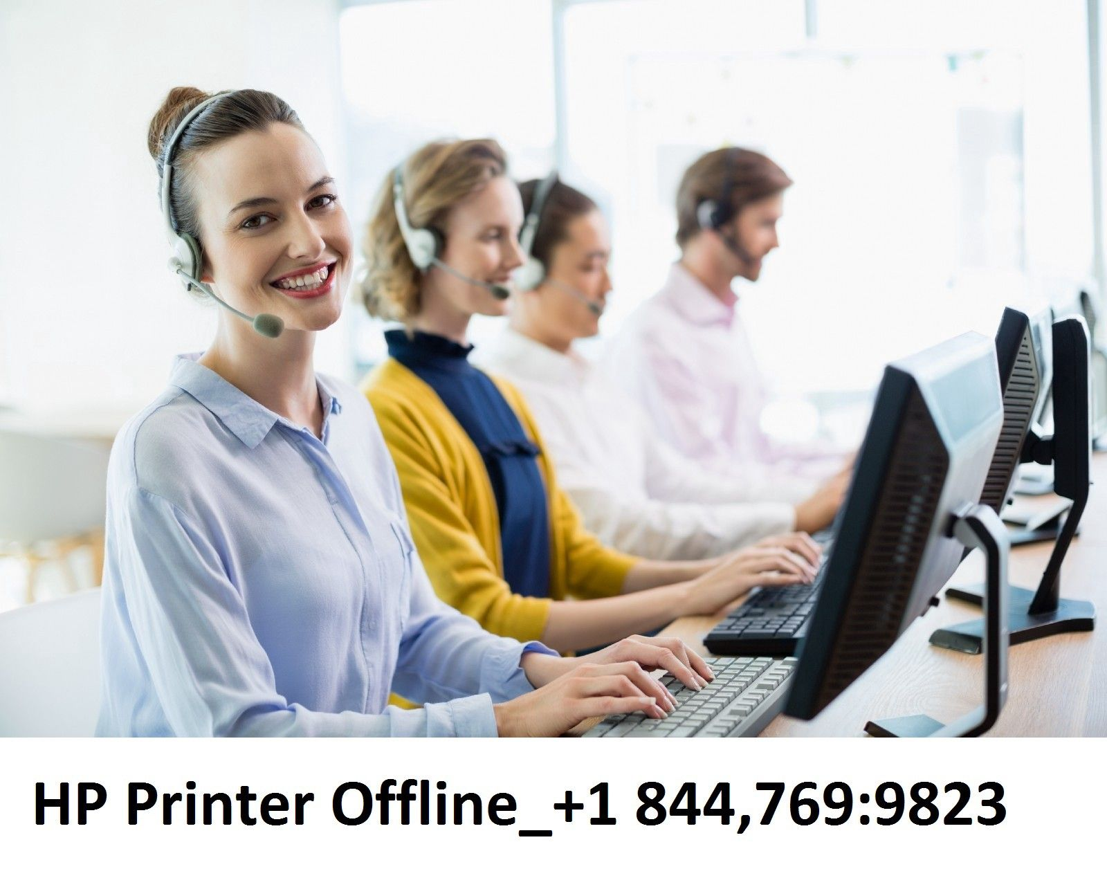 HP Printer Offline +1*844*769*9823
