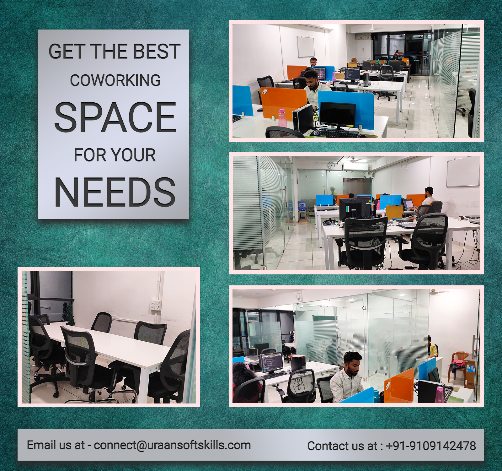 Office Space Available at Uraan Softskills