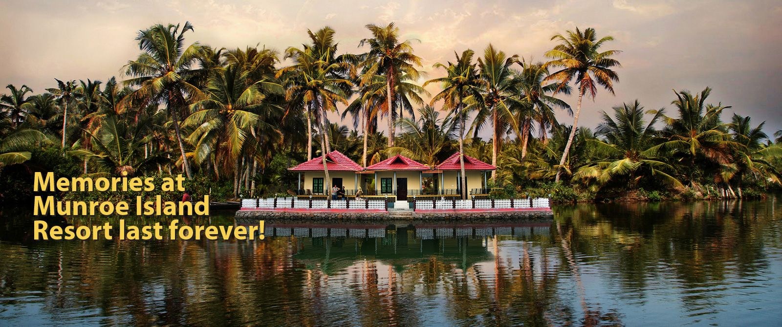 Kerala Backwaters Island Resorts- Munroe Island Lake Resort