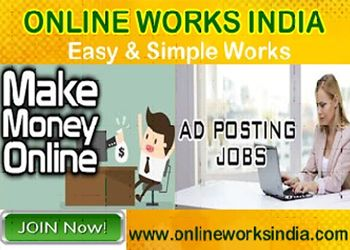 Online Ads Posting Jobs in India
