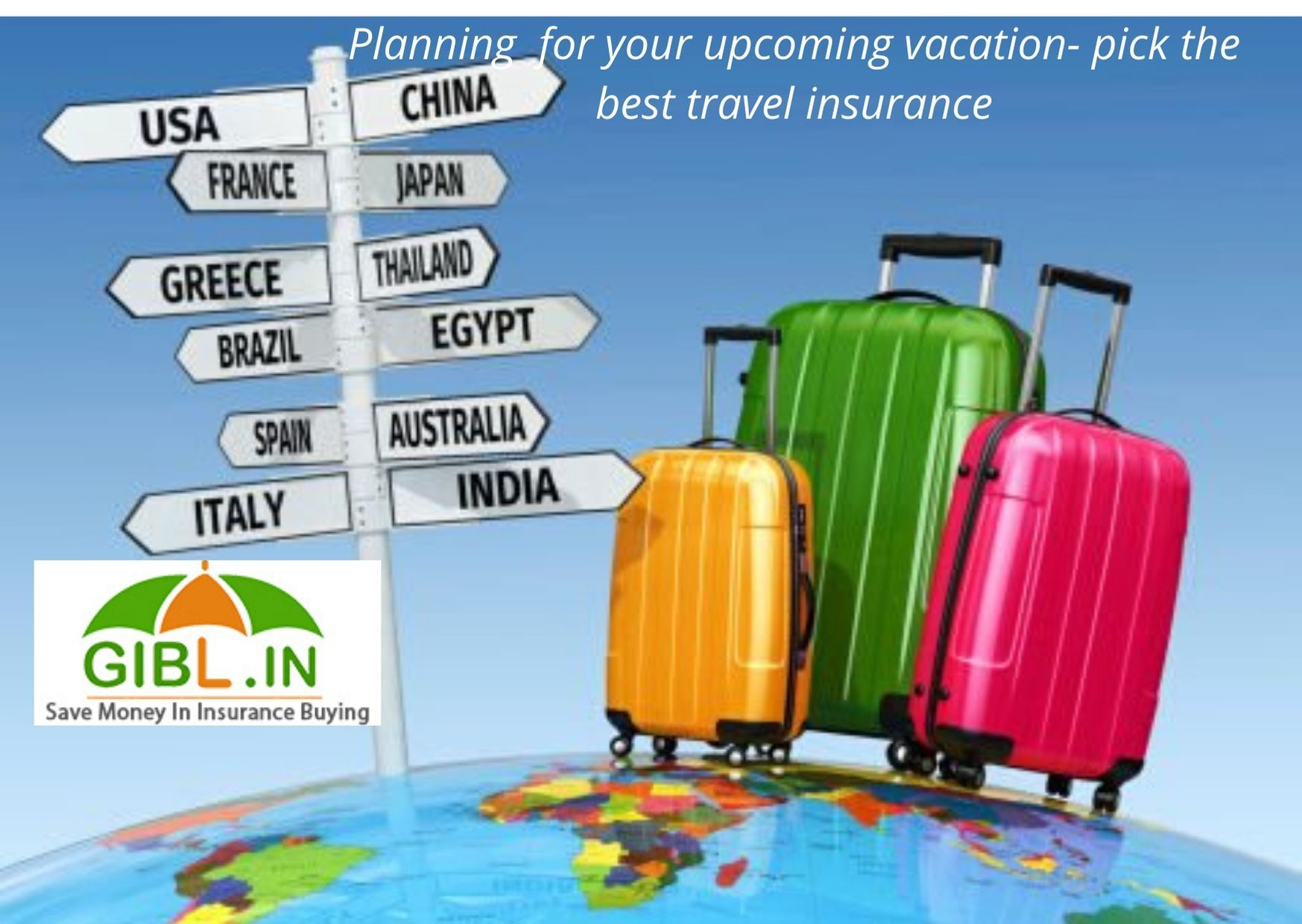 Needs financial protection for your overseas trip- buy international travel insurance online