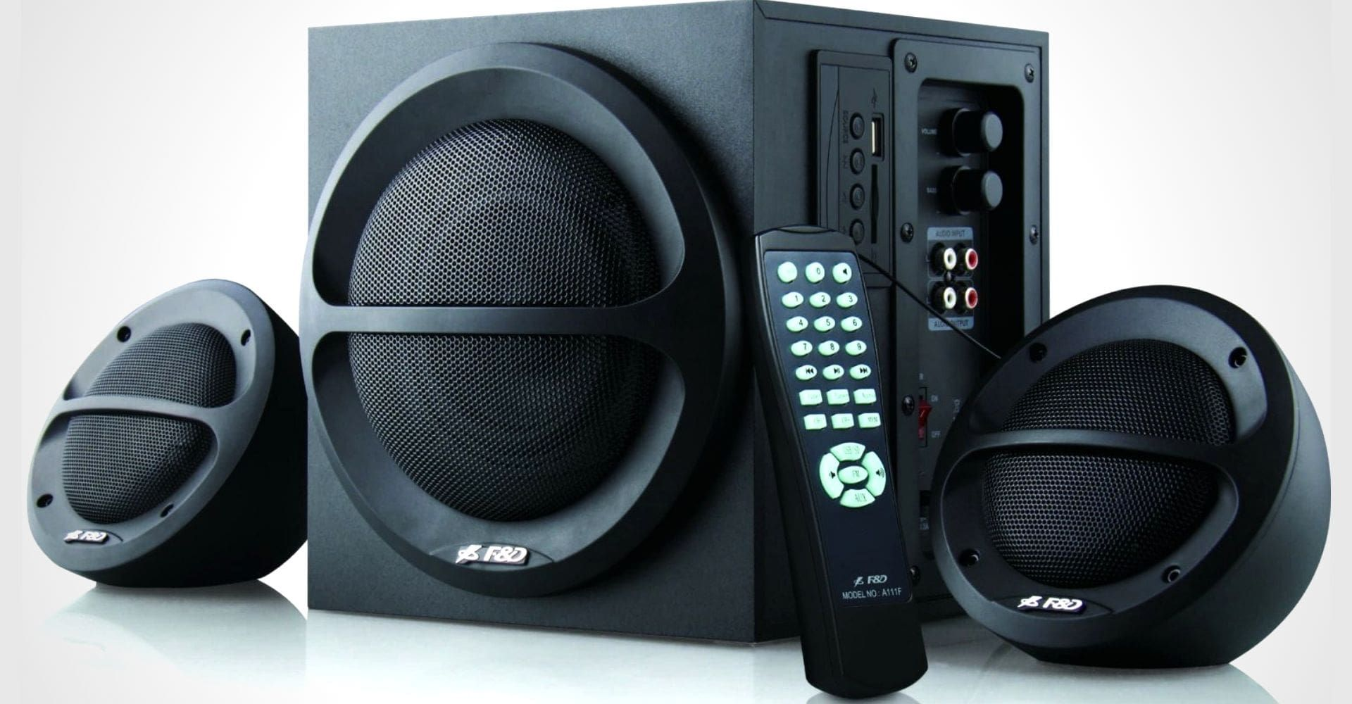 F&D 2.1 Multimedia Speakers