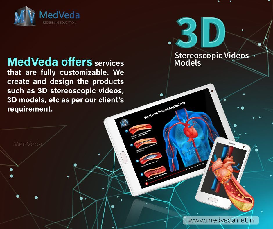 Complete 3D Anatomy Model Solution With Cloud service at  MedVeda