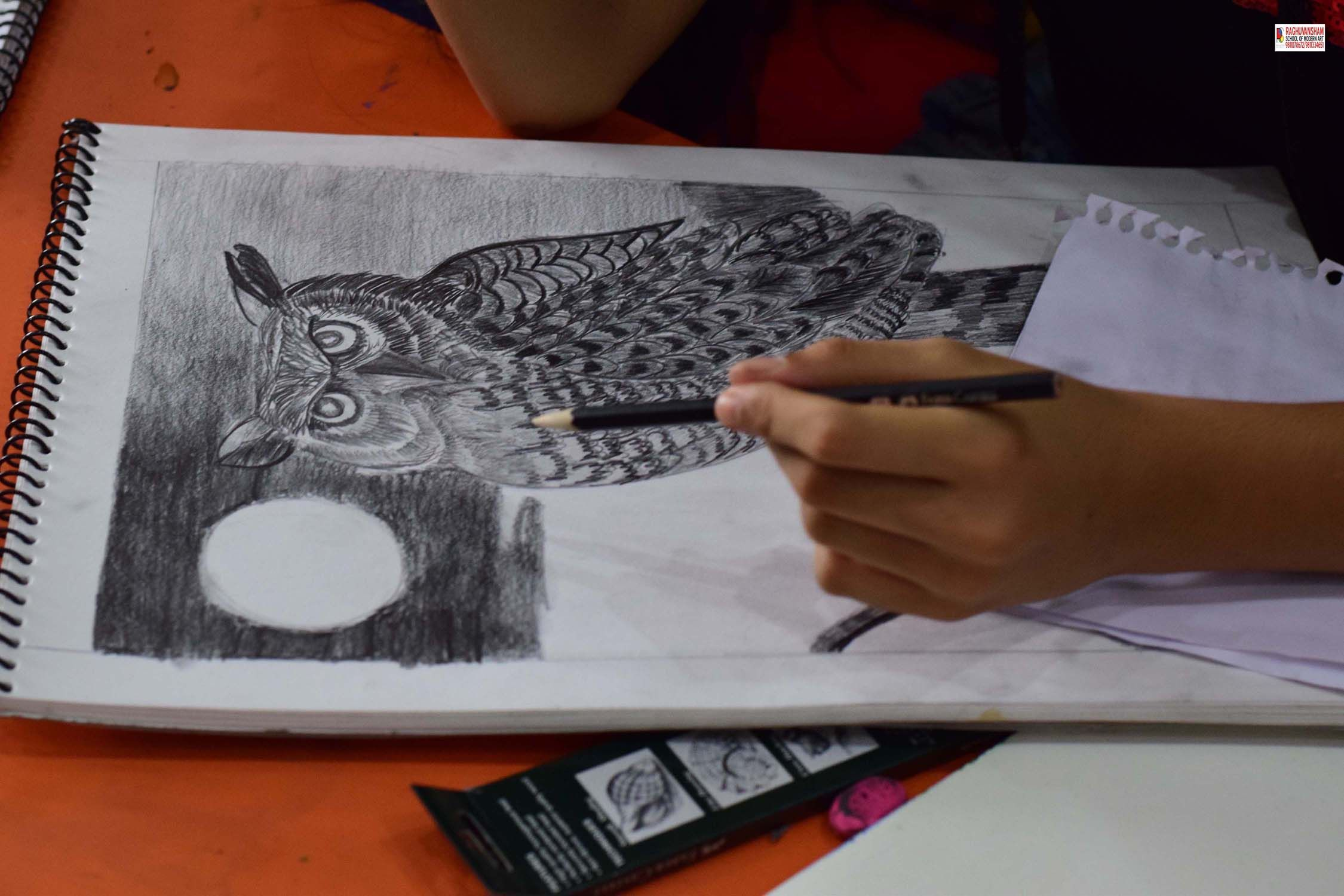 professional sketching courses in west delhi