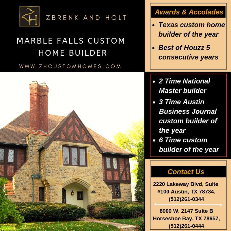 Go with Marble Falls custom home builder And Build your dream home