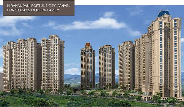 Hiranandani Fortune City Navi Mumbai offering 1/2/3 BHK Flats