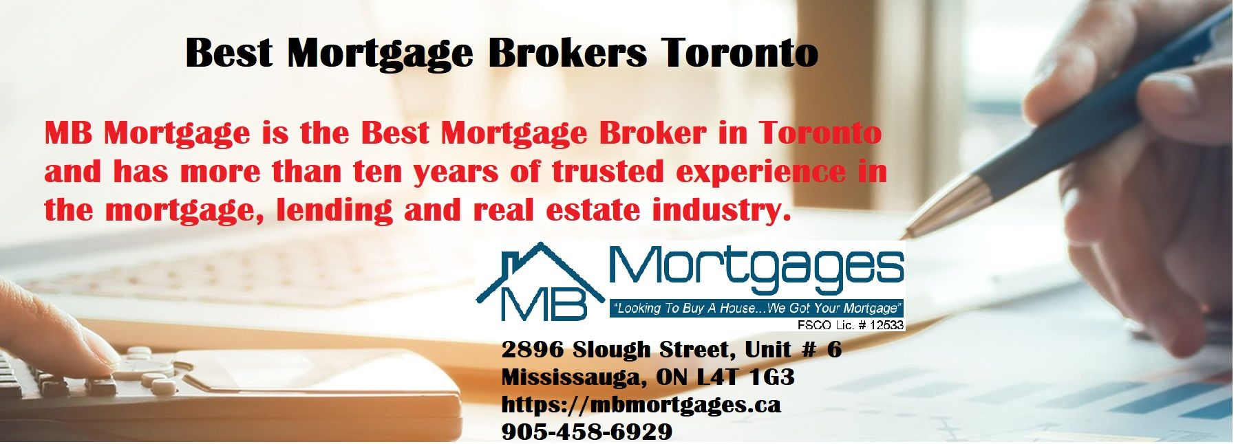 Best Mortgage Brokers Toronto | Mb Mortgages Inc.