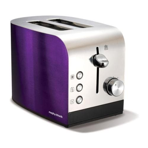 Morphy Richards-Accents 2 slice Toaster Plum