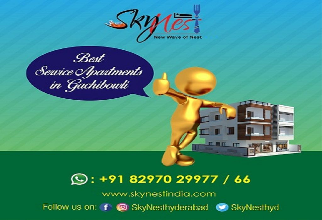 Serviced Apartments in Gachibowli | Single Sharing Double Sharing and Triple Sharing Rooms